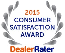 Carson Cars Recognized as 2015 Consumer Satisfaction Award Winner